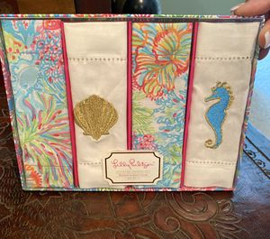 Lily Pulitzer Napkin Set for Sale in Jupiter, FL