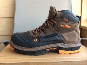NEW MEN'S WOLVERINE OVERPASS ST CONTOUR WELT STEEL TOE WATERPROOF WORK BOOTS Sz 12 for Sale in Lewisville, TX