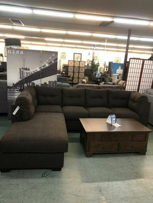 $39 DOWN❗BEST Deal 🛬 SPECIAL] Maier Walnut RAF Sectional 70 for Sale in Jessup, MD