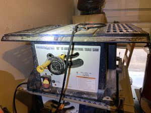 """Chicago electric table saw- 10"""" 13 for Sale in Austin, TX"""