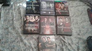 Super natural 7 Dvd seasons collection for Sale in Tampa, FL