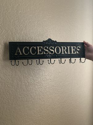 Accessories holder for Sale in Houston, TX