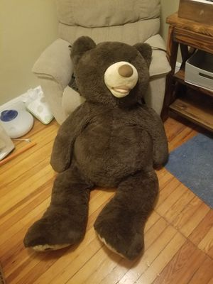 Big stuffed bear for Sale in Daytona Beach Shores, FL