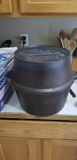 Camp Chef Cast Iron Turkey Roaster for Sale in Bend, OR