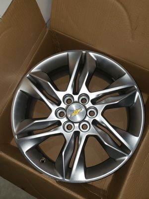 "18"" Factory OEM Chevy Blazer Traverse GMC Acadia Colorado Canyon Orginal Wheels Rims NEW for Sale in Severn, MD"