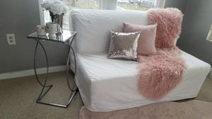 white ikea sofa bed for Sale in Dumfries, VA