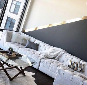 Jonathan Adler tufted modular sectional sofa *Retails $9k for Sale in Rockville, MD