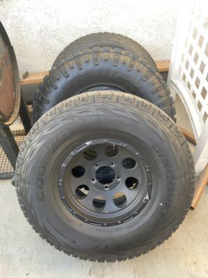 315s 75/16s tires and rims for Sale in Perris, CA