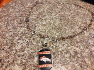 Broncos pendant charm necklaces adjustable unisex. for Sale in Denver, CO