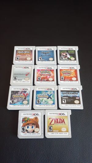 Nintendo 3DS Games. (Prices Vary) for Sale in Phoenix, AZ