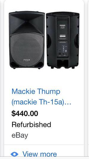 Mackie thump speaker for Sale in Miami, FL