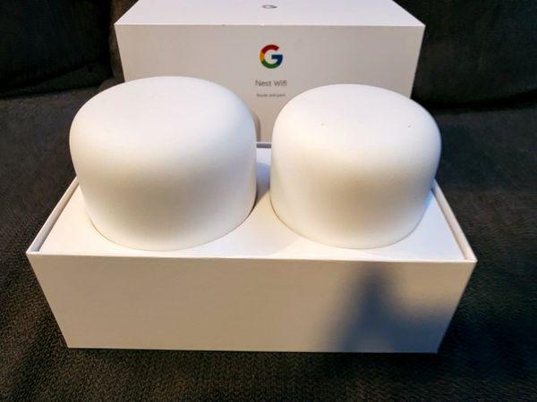 Google/Nest Wifi + Router (Like New)