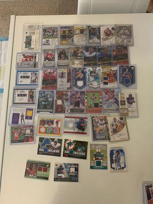 Huge bundle of basketball baseball football cards autograph jersey for Sale in Fairfax, VA