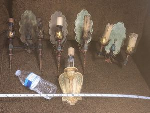Antique Iron Wall Sconces for Sale in Whittier, CA