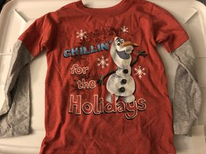 new Olaf long sleeved shirt for Sale in Riverside, CA