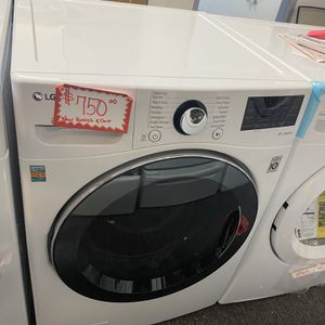 New Scratch&dent LG Front Load Washer With 6 Months Warranty for Sale in Laurel, MD