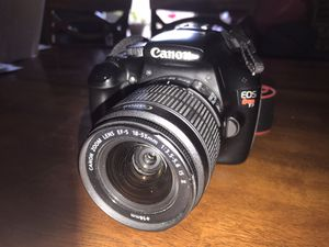 Canon rebel T3 camera bundle for Sale in San Antonio, TX
