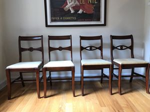 Four Antique Dining Chairs for Sale in Chicago, IL