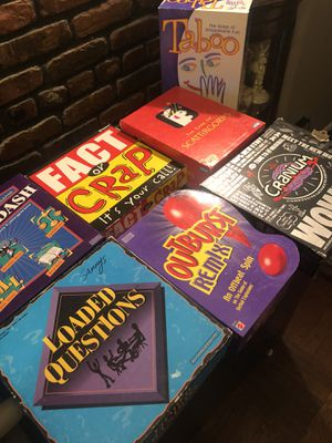 Lot of board games for $30 firm for Sale in Brooklyn, NY