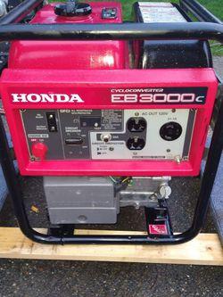Honda Eb3000c 3000 Watt Generator for Sale in Renton, WA