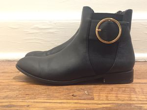 Black Boots Size 7.5 for Sale in Nashville, TN
