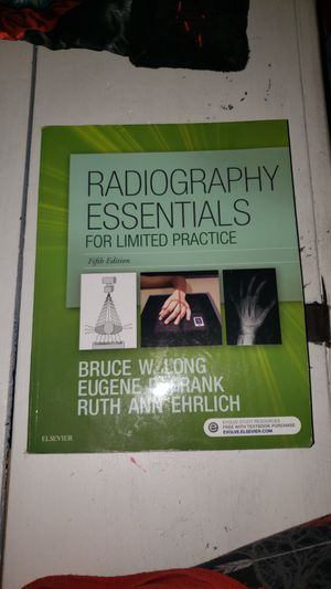 Radiology Radiography Essentials Textbook for Sale in Temecula, CA