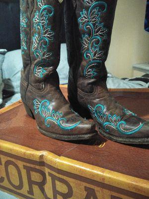 corral Girl boots sz 2.5 for Sale in La Porte, TX