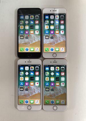 Factory unlocked Iphone 6S Plus 64GB (available: rose gold, grey, silver & gold color) - $280 each, firm price for Sale in Renton, WA