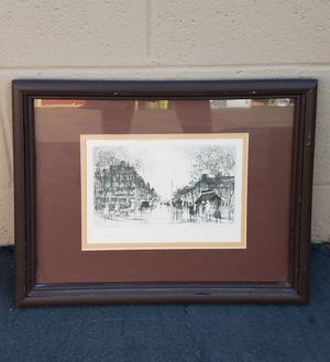ART - Artist's Proof - Etching - Signed, numbered - Local to Southern CA Gallery for Sale in Riverside, CA