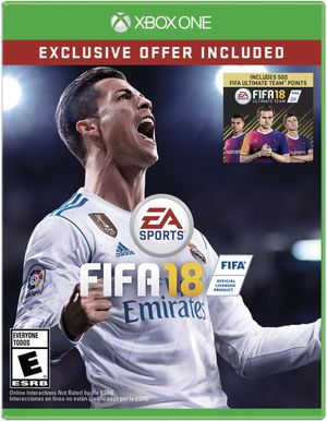 FIFA 2018 EA Sports for Xbox One. Includes FIFA 2018 Ultimate Team-500 Points for Sale for sale  Las Vegas, NV