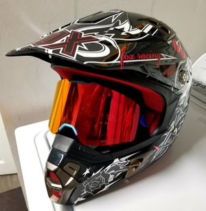 "Fox Racing ""V2 Pilot Sin City"" Motocross Helmet. Size : L Excellent Condition. for Sale in Plantation, FL"