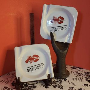 "Vintage Ashtrays (2) ""Anthony's"" Lobster for Sale in Palm Bay, FL"