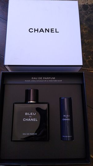 Bleu Chanel parfume big bottle 150 ml and travel perfume for Sale in San Diego, CA