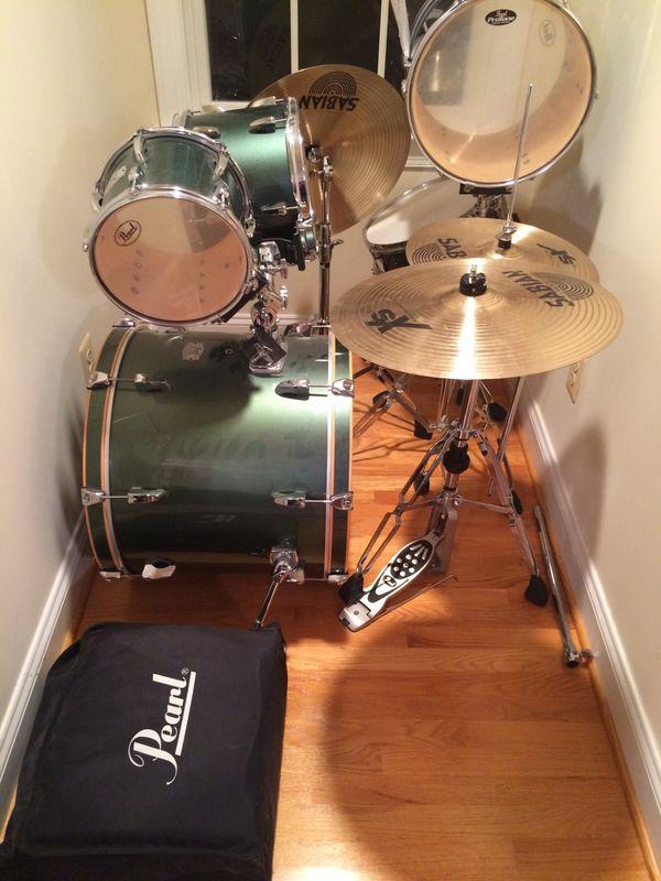 Pearl EX drum set