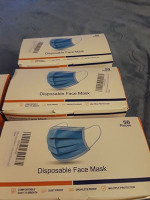 New masks 50 has the package for Sale in Calverton, MD