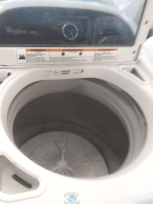 Whirlpool washer and Samsung dryer used good condition 90days warranty for Sale in Mount Rainier, MD