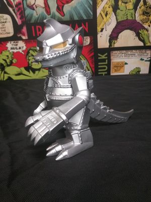 BANDAI TOKYO VINYL MECHA GODZILLA COLLECTIBLE SUPER DEFORMED ACTION FIGURE for Sale in Alameda, CA