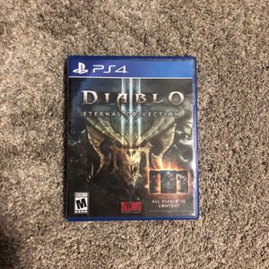 Diablo III Reaper Of Souls Edition for Sale in Tacoma, WA