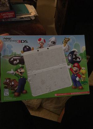 (Never Used)New Nintendo 3DS Mario White Edition for Sale in Nashville, TN