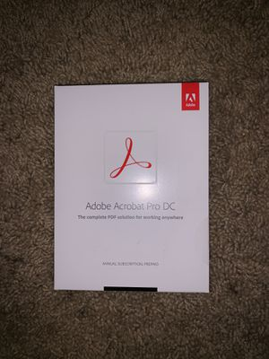 Adobe Acrobat Pro DC- 1 Year Apple Subscription for Sale in Lake Elsinore, CA