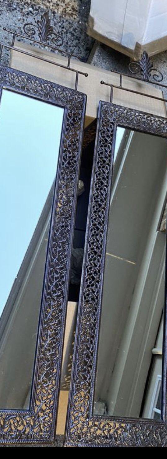Metal prestige wall mirrors