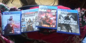 Bundle of Ps4 games for Sale in St. Louis, MO