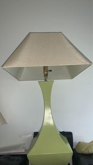 Green twin lamps for Sale in Fellsmere, FL