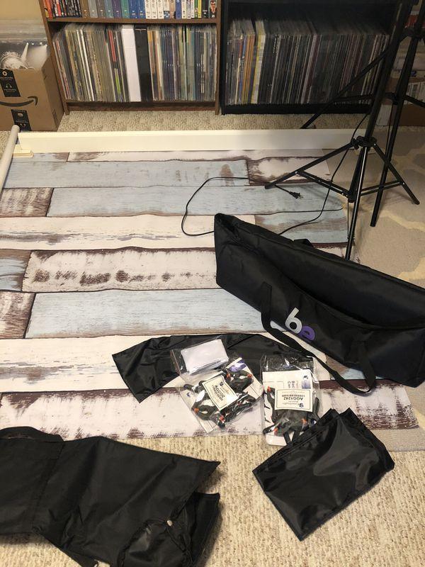 Photography indoor equipment