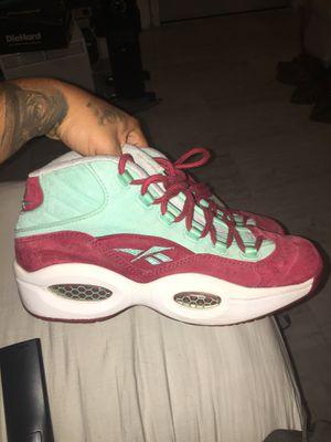 Reebok question sneakers n stuff size 10.5 for Sale in Oakland, CA