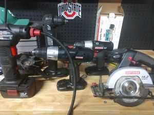 Selection of craftsman cordless tools for Sale in Columbus, OH