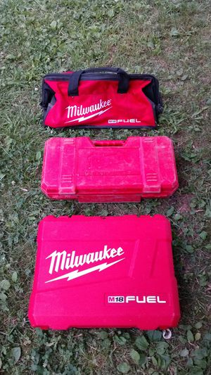 Milwaukee hard cases and power tool bag for Sale in Fairless Hills, PA