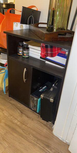 Brown shelves/cabinet storage for Sale in La Mirada, CA