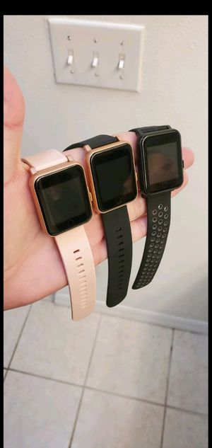 🔥New Open Box SMART WATCHES Q7. 3 colors available! For Android and iPhone 💲 for Sale in Davenport, FL