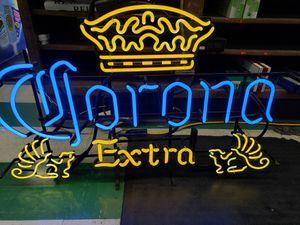 Corona neon sign for Sale in Santa Clara, CA